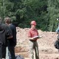 Grabung Saigerhütte Chemnitz, Prof. Dr. Helmuth Albrecht